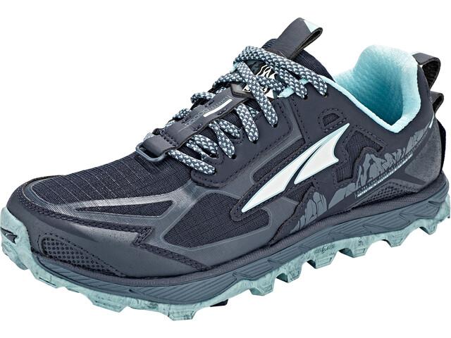 Altra Lone Peak 4.5 Zapatillas Trail Running Mujer, navy/light blue